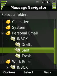 MessageNavigator Example